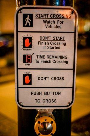 St. Charles - Crossing signal © Bobbi Rose Photography