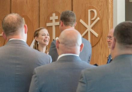 Bobbi Rose Photography - Melissa and Jason Wedding - laughing