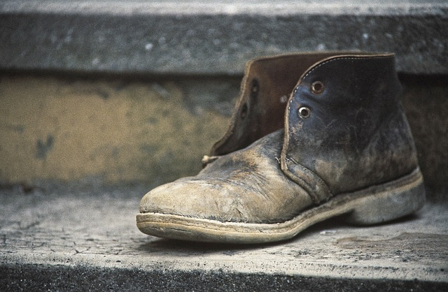 shoe-age-shoe-boots-from-the-shoes-tilted-old