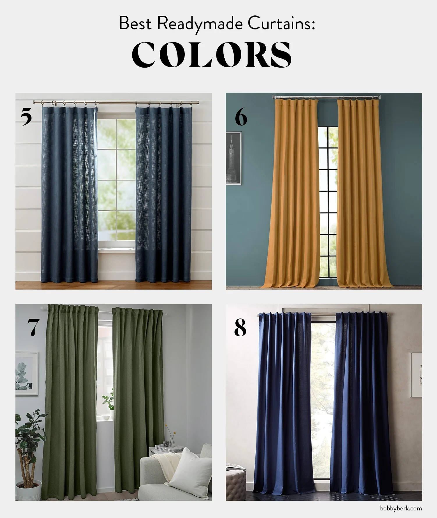 the 16 best readymade curtains all for