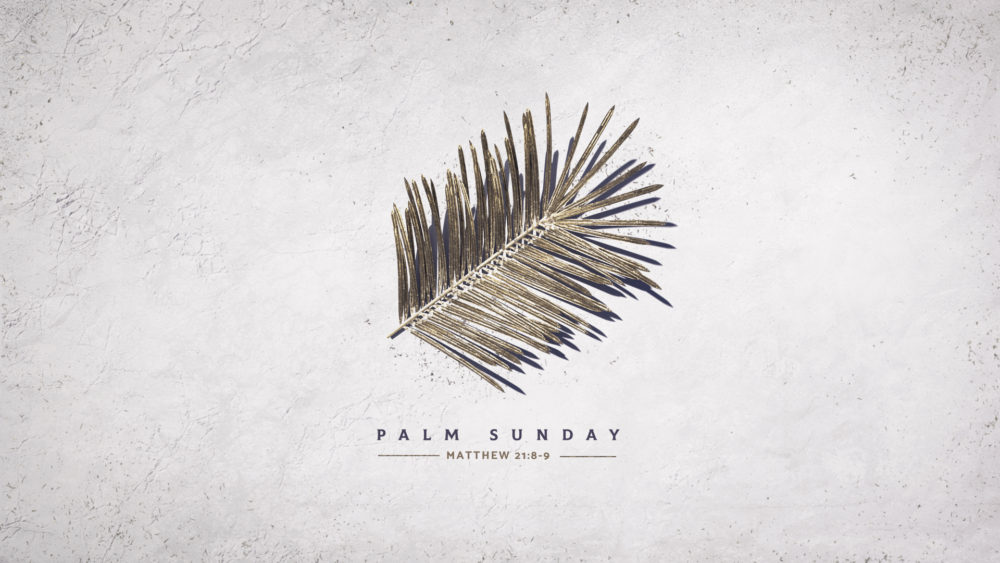The Two Choices of Palm Sunday Image