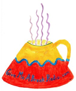 Artist Ann Tiley designed our coffee cup logo!