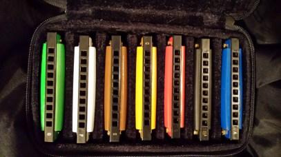 rainbow-harps