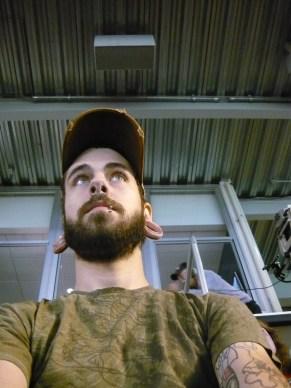 ESPN cameraman behind me is slackin.