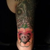 Sleeve detail by Bobby Rotten
