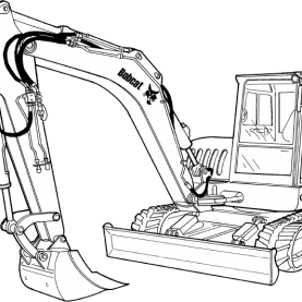 Ingersoll Rand ZX75 ZX125 Excavator Service Repair Manual