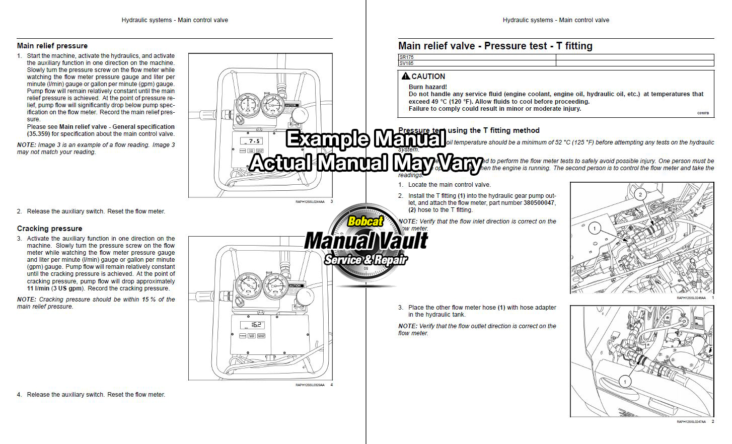 bobcat s250 alternator wiring diagram circuit breaker house oil failure control library