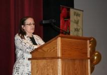 Food Services Director Vickie McVey