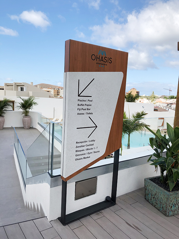 Hotel Ohasis- Directorio