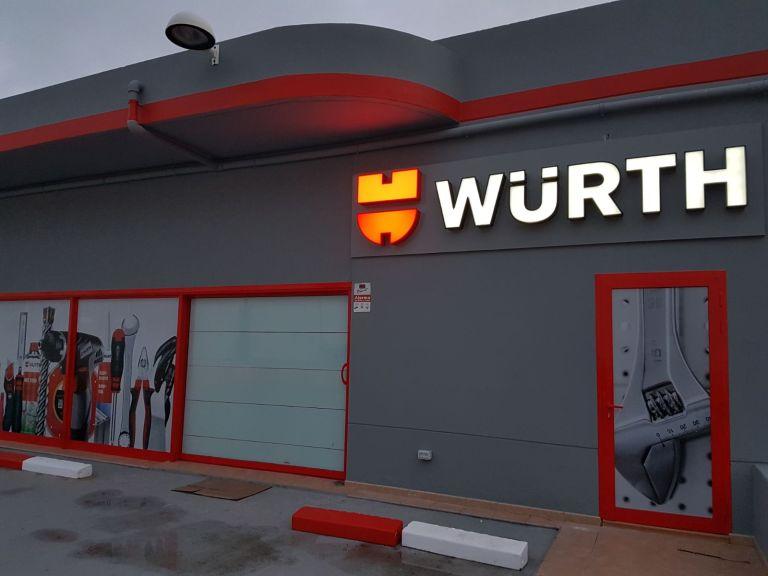 Wurth – Letrero Luminoso
