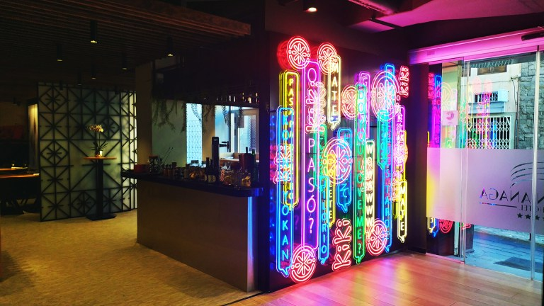 Kiki Japanese Restaurant – Neon Flex Duo
