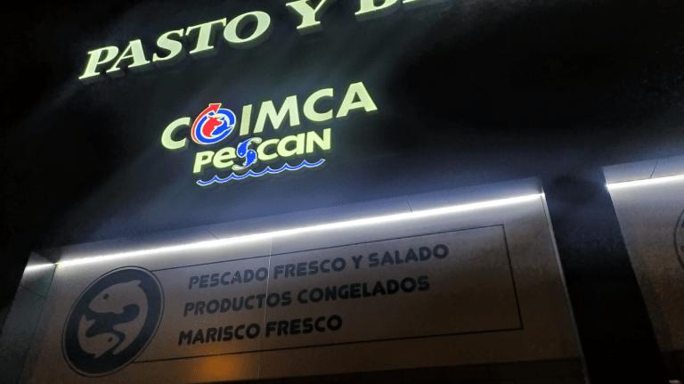 REVESTIMIENTO FACHADA VENTILADA COMPOSITE PASTO Y BELLOTA MARKET TENERIFE CANARIAS