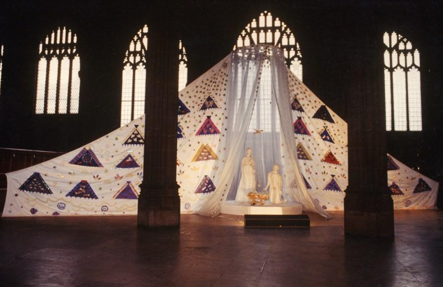 Manchester Cathedral Crib. Horse + Bamboo. Dir. Bob Frith