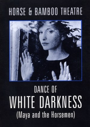 Poster for Dance of White Darkness. Maya Deren. Horse + Bamboo. Bob Frith