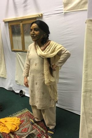 Gemma in rehearsal