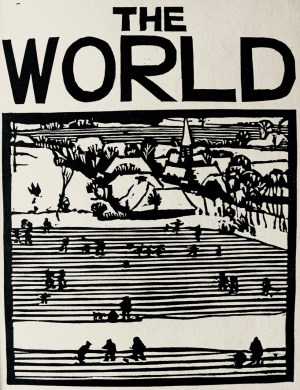 The World page, Brueghel booklet