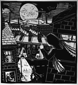 Bob Frith - The Moonwatcher print 2018