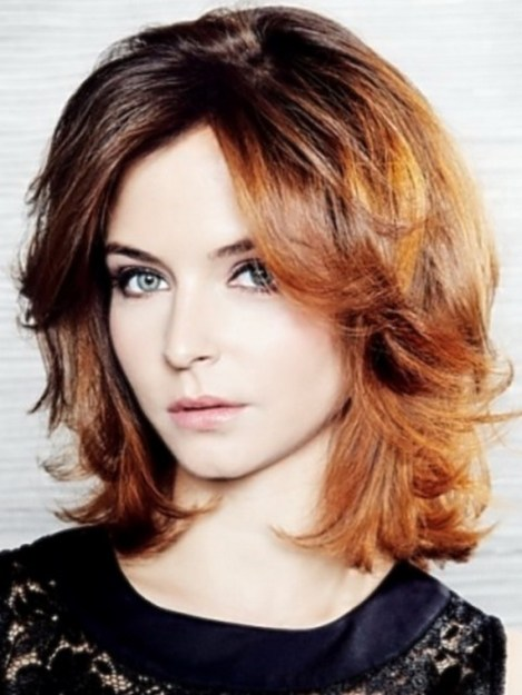 sexy shoulder length hairstyles