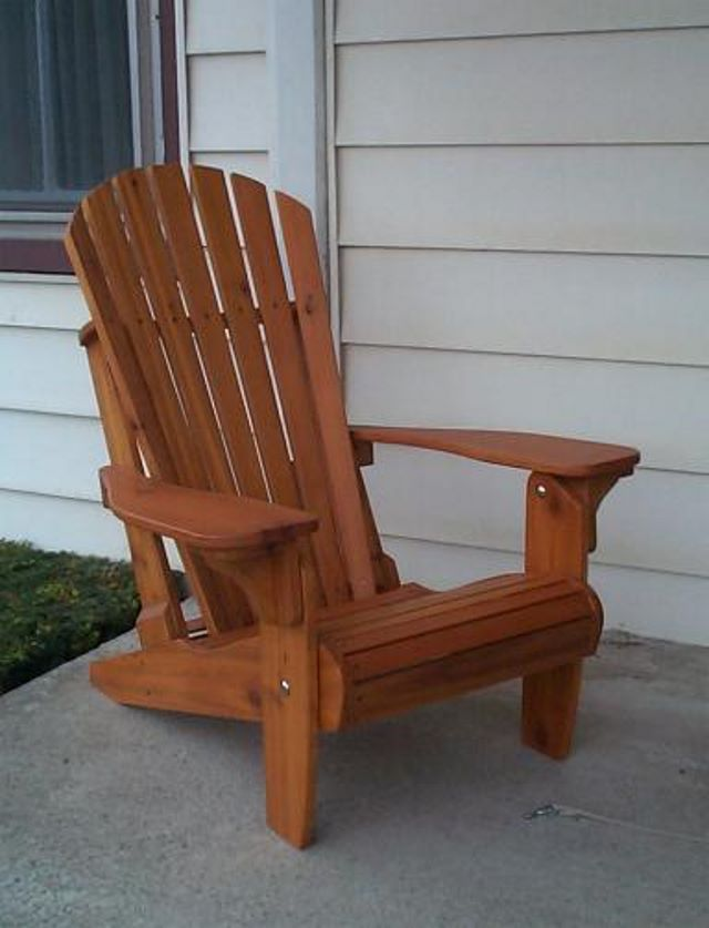 Woodworking Plans Veritas Adirondack Chair Plan Download