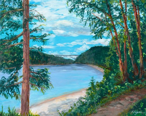 """North Beach Trail"": Original SOLD"