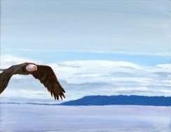 """""""Island Flight"""": 14"""" x 11"""" Available in original and print"""