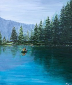 """Gone Fishing"": SOLD"