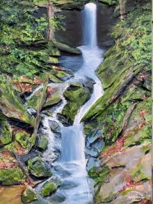 """""""Waterfalls wouldn't sound so melodious if there were no rocks in their way."""" - Rishabh Gautam"""