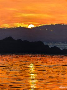 """""""It is almost impossible to watch a sunset and not dream."""" - Bernard Williams"""
