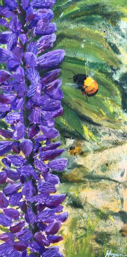 """""""The hum of bees is the voice of the garden."""" - Elizabeth Lawrence"""