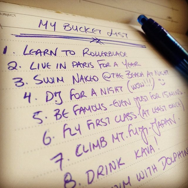 Your-bucket-list
