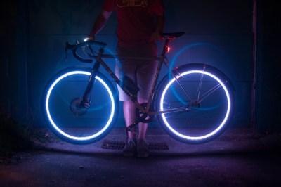 Nowy pomysł naoświetlenie roweru