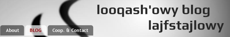 Looqash'owy blog