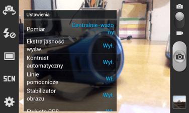 Nowe opcje w aparacie - samsung Galaxy s2