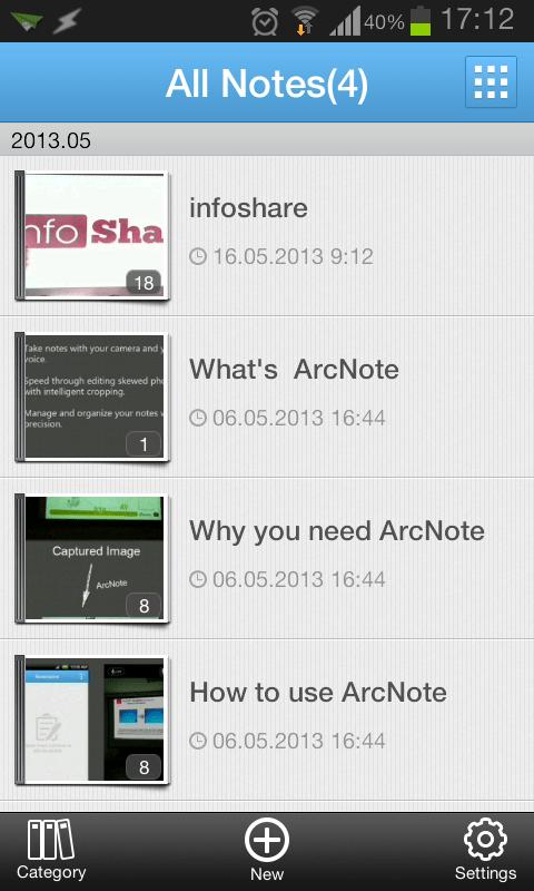 ArcNote