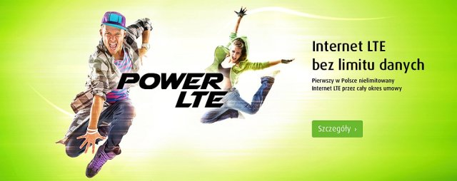PowerLTE - bezlimitu danych