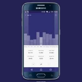 MiFit odpowiada też za jakość snu. Obserwuje i analizuje