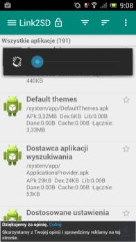 linkSD, byprzenieść appki nakarde microSD