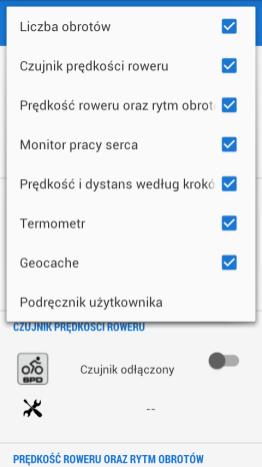 Locus - manager urządzeń ANT+
