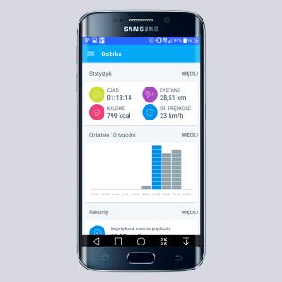 Krec kilometry - aplikacja profil