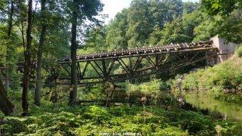 Most nadGwdą zbliska
