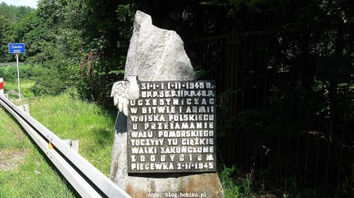 Pamiątka bitwy nadGwdą