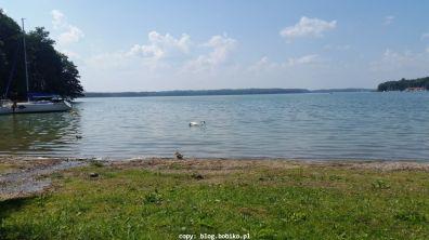 W Czaplinku - jezioro Drawskie