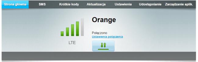 Przyzwoity sygnał LTE wrouterze
