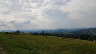Magia Tatr widok z Trasy Papieskiej w okolicach Sierockich