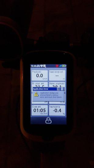 Mio Cyclo 500HC - ot blad