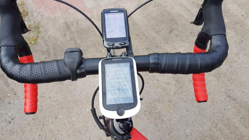 Mio Cyclo 505HC - pierwsze kilometry