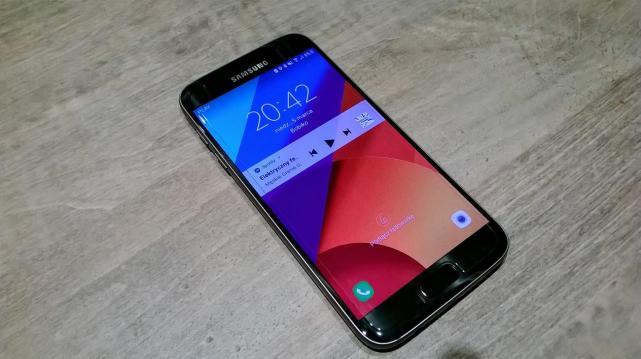 Samsung Galaxy S7 - wlaczony ekran