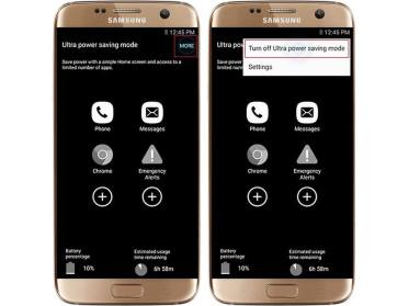 samsung galaxy s7 - ultra powersaving