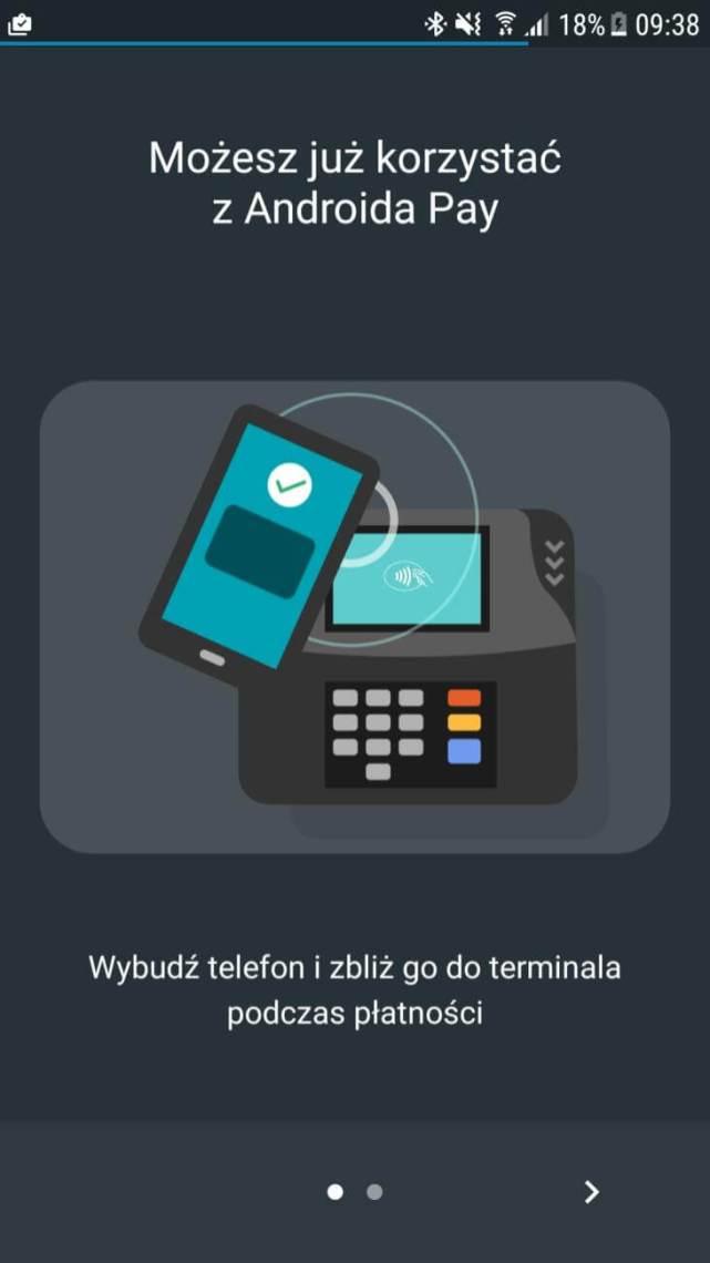 Android Pay - dziala zmBankiem
