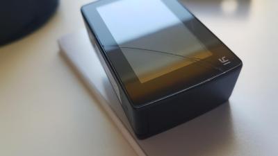 Pękające szkło iobudowa wXiaoyi Yi Action 2 4K